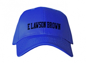 E Lawson Brown Middle School Kid Embroidered Baseball Caps