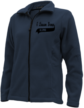 E Lawson Brown Middle School Embroidered Fleece Jackets