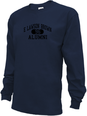 E Lawson Brown Middle School Long Sleeve Shirts