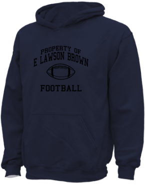 E Lawson Brown Middle School Kid Hooded Sweatshirts
