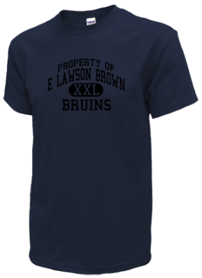 E Lawson Brown Middle School Kid T-Shirts