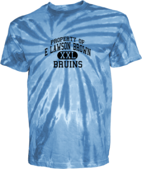 E Lawson Brown Middle School Kid Tie-dye T-Shirts