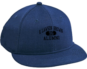 E Lawson Brown Middle School Flat Visor Caps