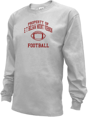E T Belsaw Mount Vernon School Kid Long Sleeve Shirts