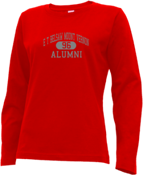 E T Belsaw Mount Vernon School Long Sleeve Shirts