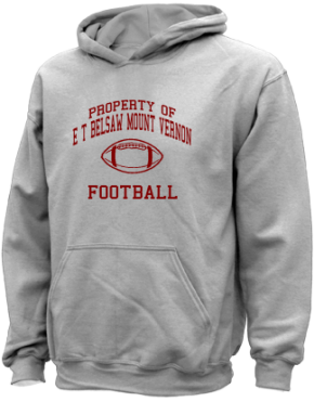 E T Belsaw Mount Vernon School Kid Hooded Sweatshirts