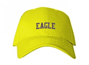 Eagle Middle School Kid Embroidered Baseball Caps
