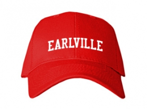 Earlville High School Kid Embroidered Baseball Caps