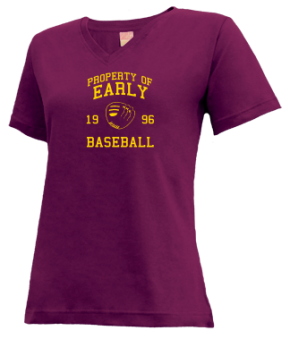 Early High School V-neck Shirts