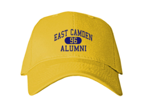 East Camden Middle School Embroidered Baseball Caps