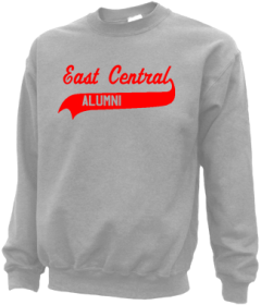 East Central High School Sweatshirts