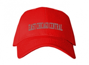 East Chicago Central High School Kid Embroidered Baseball Caps