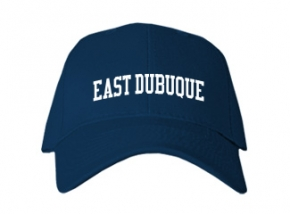 East Dubuque High School Kid Embroidered Baseball Caps