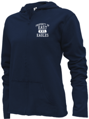 East Elementary School Girls Zipper Hoodies