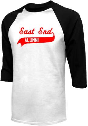 East End Elementary School Raglan Shirts