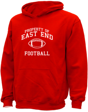East End Elementary School Kid Hooded Sweatshirts