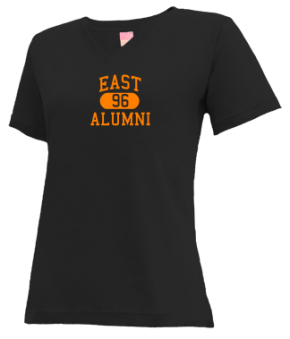 East High School V-neck Shirts