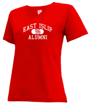 East Islip High School V-neck Shirts
