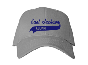 East Jackson Elementary School Embroidered Baseball Caps