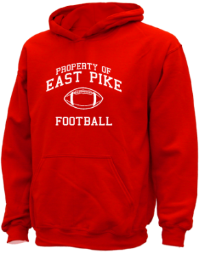 East Pike Elementary School Kid Hooded Sweatshirts