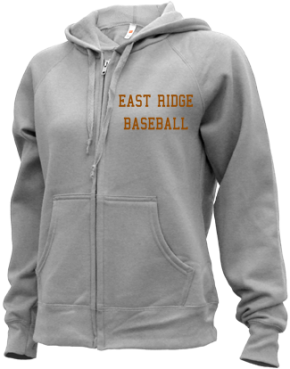 East Ridge High School Zip-up Hoodies