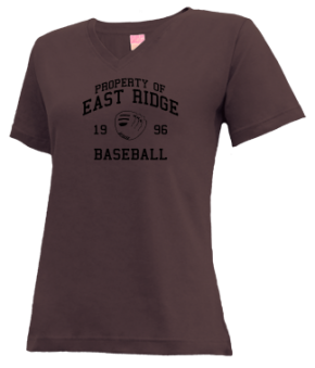 East Ridge High School V-neck Shirts