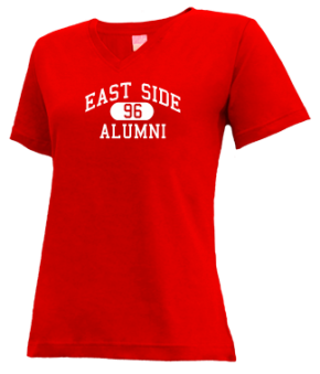 East Side High School V-neck Shirts