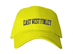 East West Finley School Kid Embroidered Baseball Caps