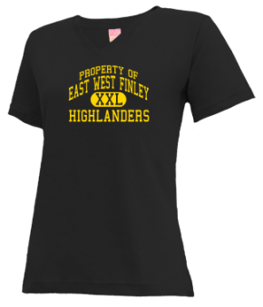 East West Finley School V-neck Shirts