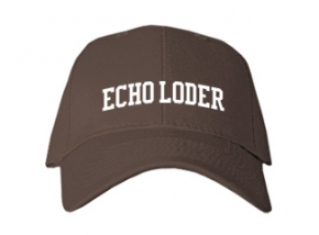 Echo Loder Elementary School Kid Embroidered Baseball Caps
