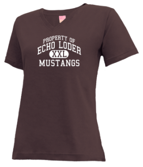 Echo Loder Elementary School V-neck Shirts
