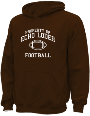 Echo Loder Elementary School Kid Hooded Sweatshirts