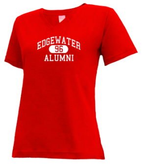 Edgewater High School V-neck Shirts
