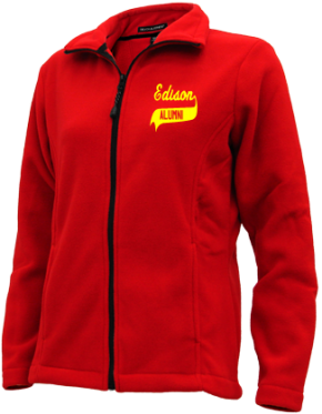 Edison High School Embroidered Fleece Jackets