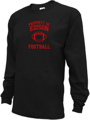 Edison High School Kid Long Sleeve Shirts