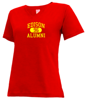 Edison High School V-neck Shirts