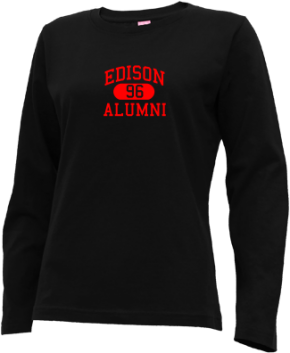 Edison High School Long Sleeve Shirts
