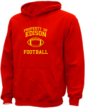 Edison High School Kid Hooded Sweatshirts