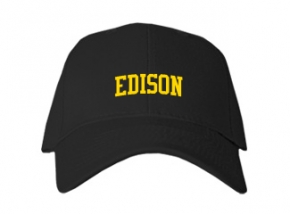 Edison High School Kid Embroidered Baseball Caps