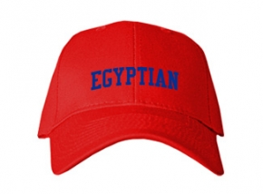 Egyptian High School Kid Embroidered Baseball Caps