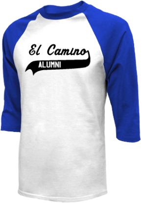 El Camino Junior High School Raglan Shirts