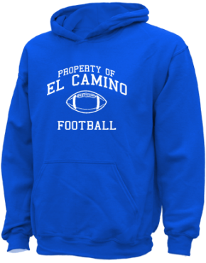 El Camino Junior High School Kid Hooded Sweatshirts