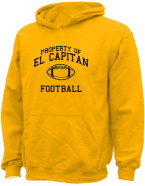 El Capitan High School Kid Hooded Sweatshirts