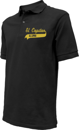 El Capitan High School Embroidered Polo Shirts