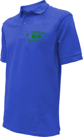 El Diamante High School Embroidered Polo Shirts