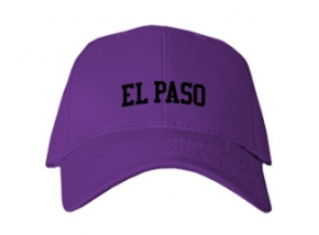 El Paso High School Kid Embroidered Baseball Caps