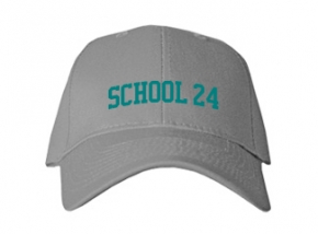 Elementary School 24 Kid Embroidered Baseball Caps