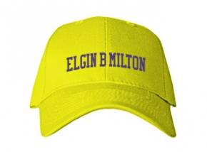 Elgin B Milton Elementary School Kid Embroidered Baseball Caps