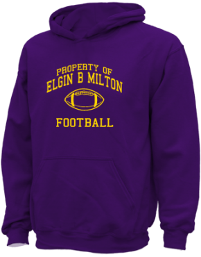 Elgin B Milton Elementary School Kid Hooded Sweatshirts