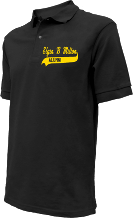 Elgin B Milton Elementary School Embroidered Polo Shirts